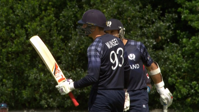 Scotland innings highlights