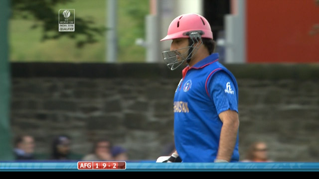 Asghar Stanikzai Wicket – NED vs AFG