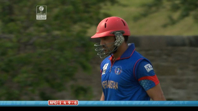 Shinwari Wicket – NED vs AFG