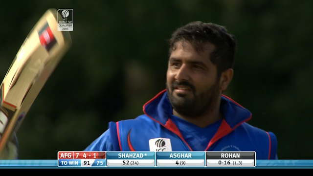 Match highlights – UAE vs AFG