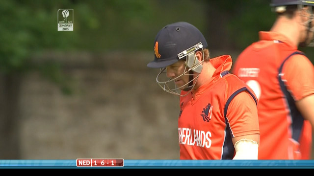 Stephan Myburgh Wicket – SCO vs NED