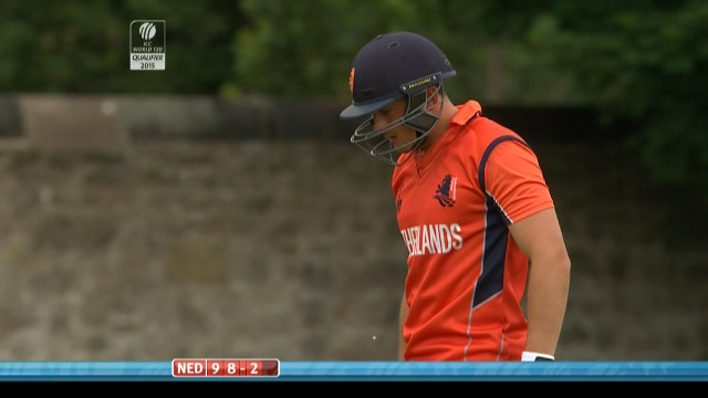 Wesley Barresi Wicket – SCO vs NED