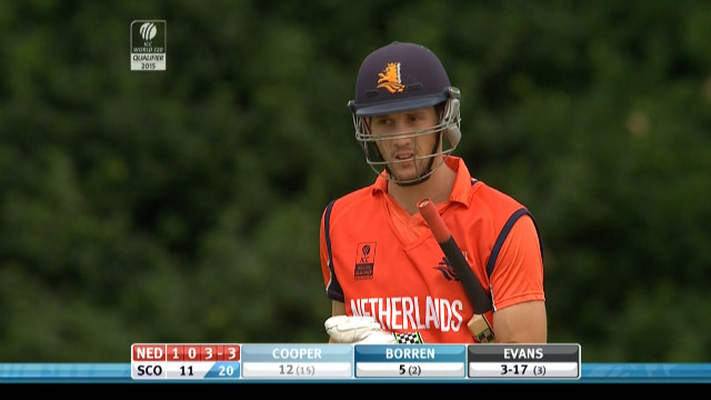 Ben Cooper Wicket – SCO vs NED