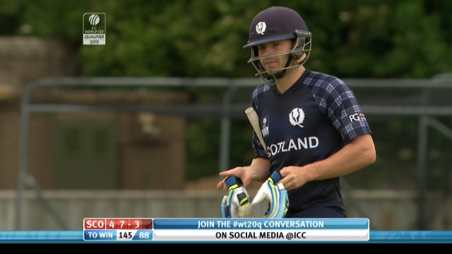 Matthew Cross Wicket – SCO vs NED