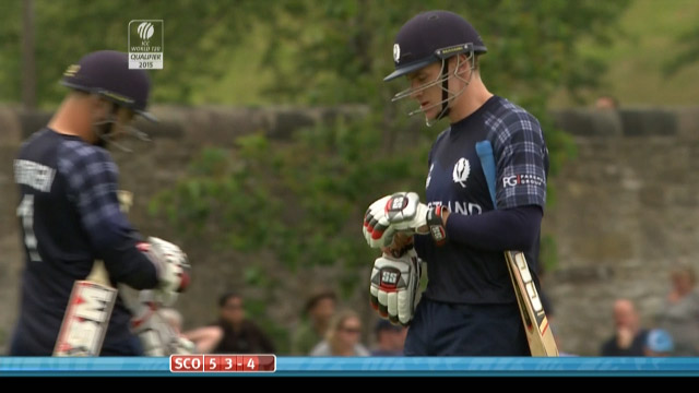Richie Berrington Wicket – SCO vs NED