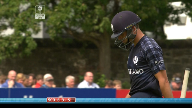 Calum MacLeod Wicket – SCO vs NED