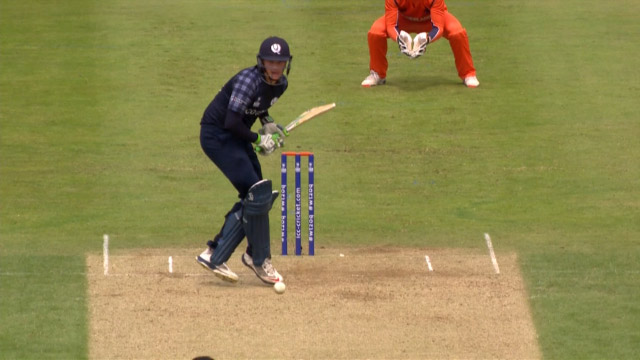 Mark Watt Wicket – SCO vs NED