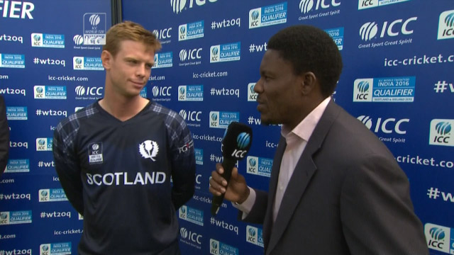 Player of the Match- Alasdair Evans – SCO vs NED