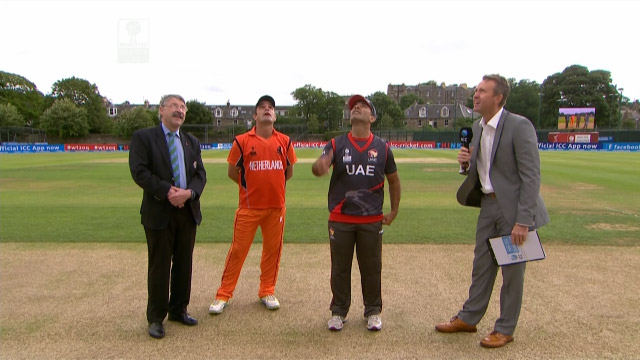 Toss, Pitch Report – UAE vs NED