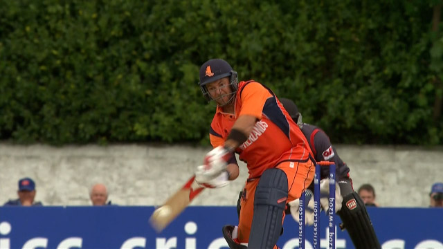 Netherlands innings highlights