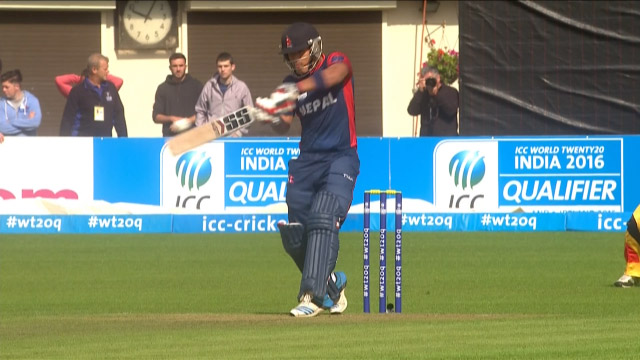 Nepal innings super shots