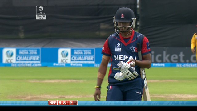 Nepal innings wickets
