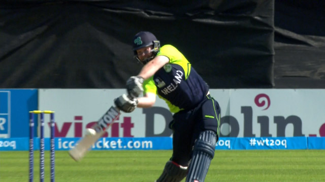 Ireland innings super shots