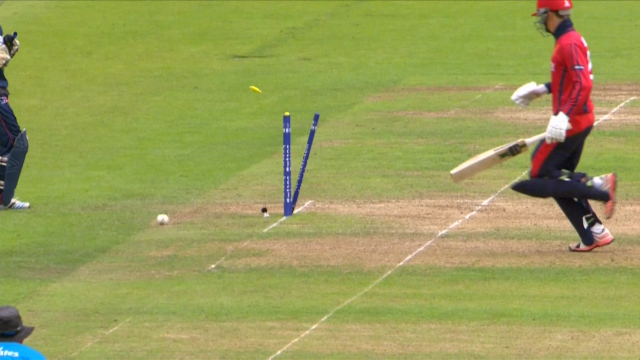 Siddhant Lohani's amazing run-out