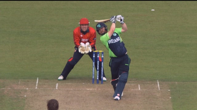 Stirling hits the Longest Six of #wt20q!