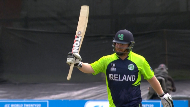 Ireland innings highlights
