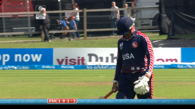 Japen Patel Wicket – USA vs PNG