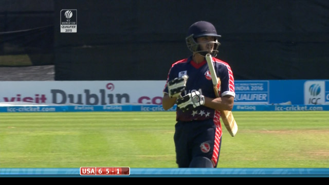 Fahad Babar Wicket – USA vs PNG