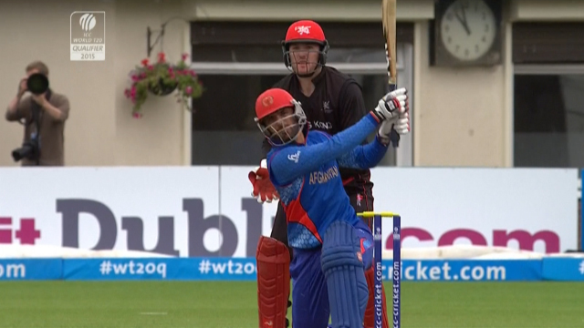 Match highlights – AFG vs HK
