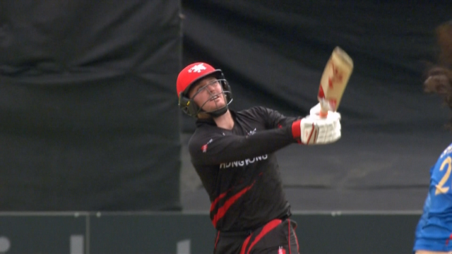 Hong Kong innings highlights