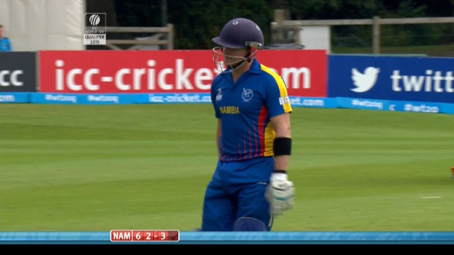 Craig Williams Wicket – NAM vs NED