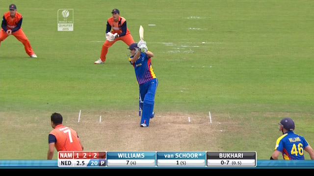Namibia innings super shots