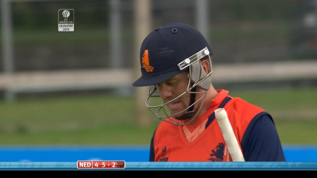 Stephan Myburgh Wicket – NAM vs NED