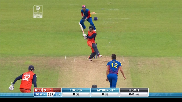 Netherlands innings super shots