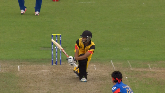 Papua New Guinea innings highlights
