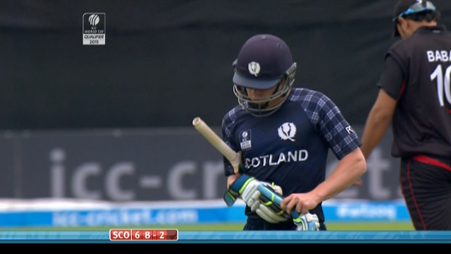 Matthew Cross Wicket – SCO vs HK