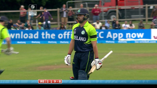 Stuart Thompson Wicket – IRE vs NED
