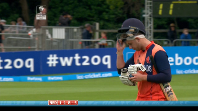 Max O'Dowd Wicket – IRE vs NED