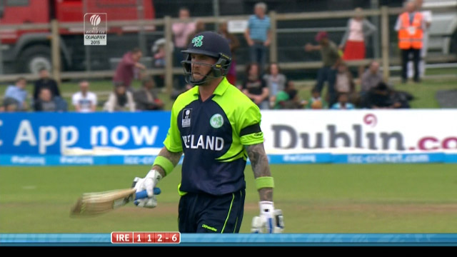 John Mooney Wicket – IRE vs NED