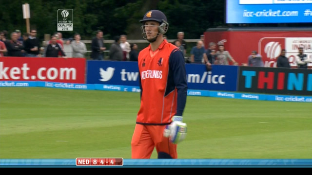 Ben Cooper Wicket – IRE vs NED