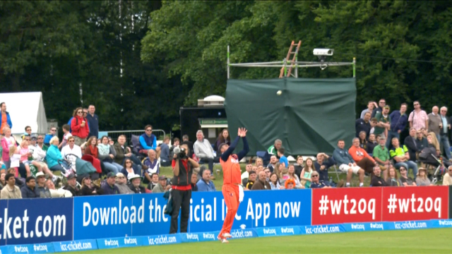 Perfectly Judged catch from Max O'Dowd
