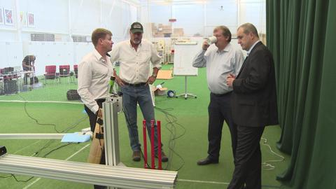 Cricket Testing, Loughborough