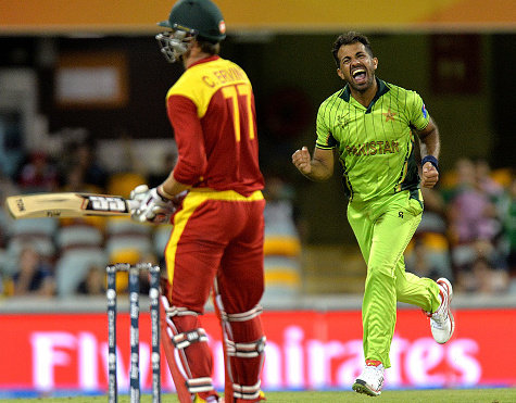 Pakistan v Zimbabwe Match Highlights CWC15