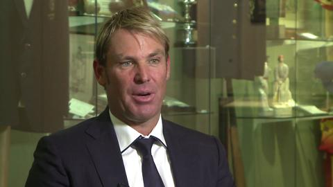 Shane Warne on the ball of the century