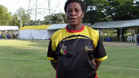 Norma Ovasuru interview after PNG win