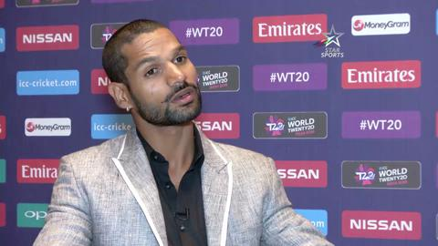 Shikhar Dhawan interview at ICC World Twenty20 launch