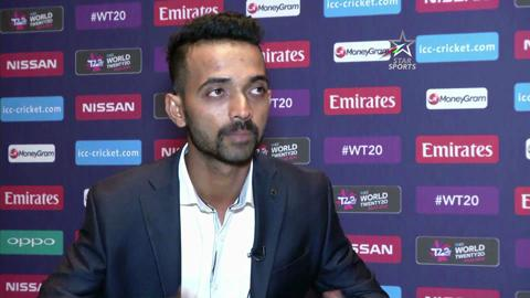 Ajinkya Rahane interview at ICC World Twenty20 launch