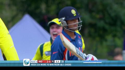 Australia U19 v India U19 World Cup final 2012 highlights