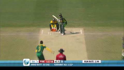 Pakistan U19 v South Africa U19 World Cup final 2014 highlights