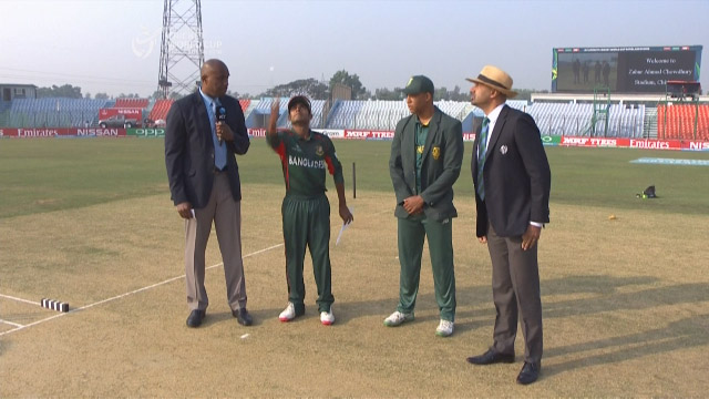 Toss, Pitch Report – SA vs BAN