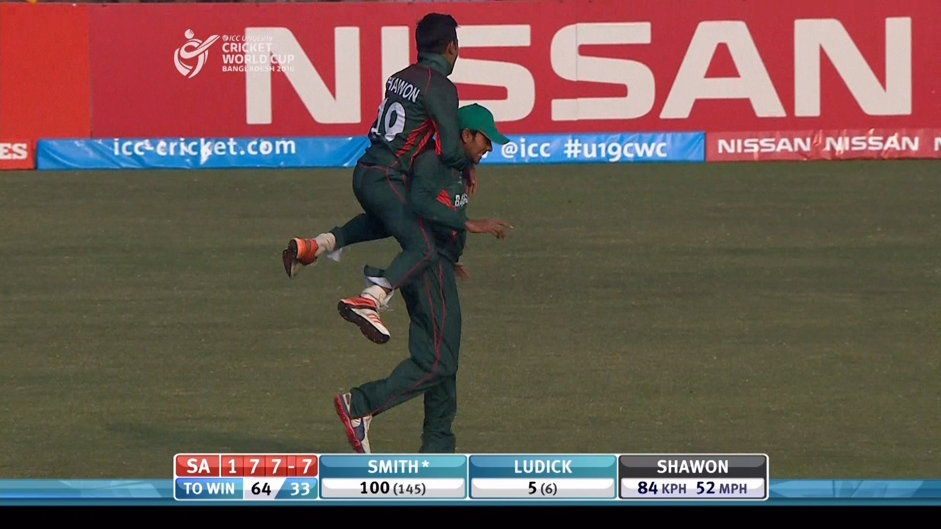 Hasan takes stunning diving catch – SA v BAN
