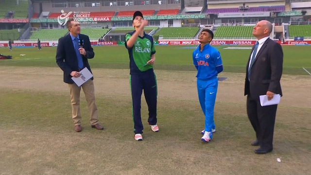 Toss, Pitch Report – IRE v IND