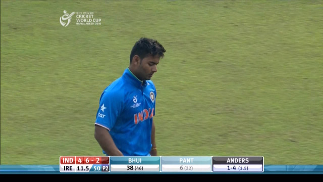 Pant Wicket – IRE v IND
