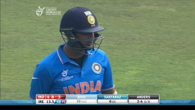 Bhui Wicket – IRE v IND