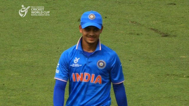 Kishan's perfect pick up and throw – IRE v IND