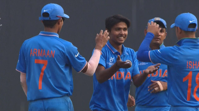Match highlights – IRE v IND